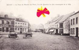 BAVAY - La Place Du Marché Aux Porcs, L'un Des Quartiers Les Plus Commerçants De La Ville - Bavay