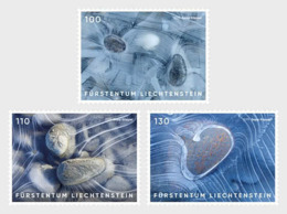 Liechtenstein 2019 - Artistic Photography - Ice Stamp Set Mnh - Liechtenstein
