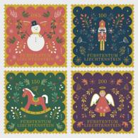 Liechtenstein 2019 - Christmas 2019 Stamp Set Mnh - Liechtenstein