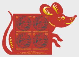 Liechtenstein 2019 - Chinese Signs Of The Zodiac - Rat - M/S Mint - Liechtenstein