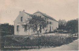 57 - APACH - RESTAURANT DE LA GARE VON BERNARD KINTZIG - CARTE RARE - Sonstige Gemeinden