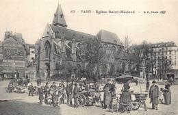 France 75 Paris  église Saint Médard      Barry 52 - Petits Métiers à Paris
