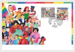 Liechtenstein 2019 - Diversity - Joint Issue With Switzerland FDC - Liechtenstein