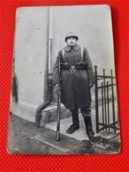 MILITARIA  -  ARMEE BELGE -  Photo De Soldat Belge - Uniformes