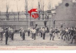 Ecole Nationale Professionnelle D'ARMENTIERES - Sèance De Gymnastique - Carte Très Animée - Armentieres
