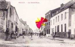 BAVAY - La Grand'Rue - Carte Animée - Bavay