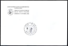 VOLLEYBALL - ITALIA CONEGLIANO (TV) 2008 - PROMOZIONE SPES VOLLEY IN SERIE A1 - BUSTA CON 3 C.U. - 7 IMMAGINI - Pallavolo