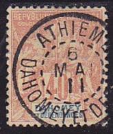 Dahomey N° 12 Oblitéré -Voir Verso & Descriptif - - Dahomey (1899-1944)