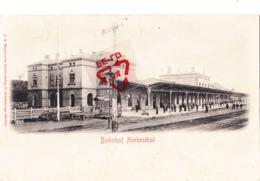 Bahnhof - HERBESTHAL - Quai De La Gare Très Animé - Lontzen