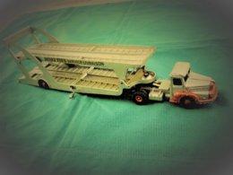 DINKY SUPERTOYS - Tracteur UNIC N° 39 + Transporteur De Voitures Boilot Petolat N° 39A - Dinky