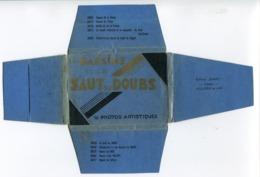 Bassins Et Saut Du Doubs -  Pochette * Etui Complet 10 Photos Artistiques 6 X 9 Cm ( Villers Le Lac Edition Diart) - Autres Collections
