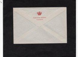 LSC - Enveloppe Non écrite - Au Dos Entête  CARLTON HOTEL - CANNES - Sonstige