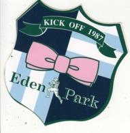 Autocollant  Rugby  - Eden Park -  KICK OFF 1987 - Autocollants