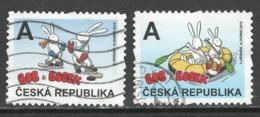 Tsjechië, Yv 769-70 Jaar 2015, Reeks, Gestempeld - Tchéquie