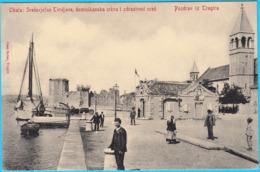TROGIR (Trau) ... Sredovjecne Tvrdjave , Dominikanska Crkva I Zdrastveni Ured ( Croatia ) * Not Travelled * Croazia - Croatia