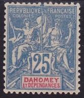 Dahomey N° 4 Neuf *  -Voir Verso & Descriptif - - Neufs