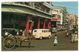 PHILIPPINES - CARRIEDO ST.IN QUIAPO,MANILA / VW TRANSPORTER-KOMBI / OLD CARS - Filippine
