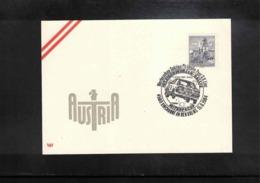 Austria / Oesterreich 1984 Mitropa Cup Interesting Postmark - Automobile