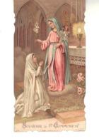 Souvenir De 1ère  Communion.  Eglise Sainte Elisabeth - Images Religieuses