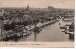 NANTES - PANORAMA DE LA VILLE ET DES QUAIS - Nantes