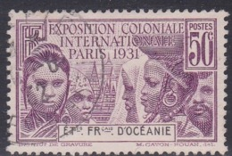 French Oceania, Scott #77, Used, Colonial Exposition, Issued 1931 - Oceania (1892-1958)