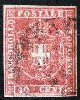 Toscana 1860 Governo Provvisorio Sass.21 O/Used VF/FF - Toscane