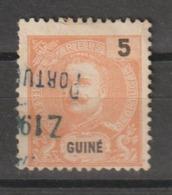 GUINE CE AFINSA 48 - POSTMARKS OF GUINE - Guinée Portugaise