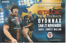 STADE TOULOUSAIN - OYONNAX - Rugby