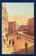 Palestine. Jérusalem.Rue De Jaffa. Illustrateur  Rodolfo Paoletti ( 1866-1940) - Palestine