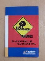 Livret Argentine, Campagne Nationale De Sécurité Routière - Unfälle Und Verkehrssicherheit