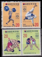 1972Korea South845-48Paar1972 Olympic Games In  Munchen13,00 € - Sommer 1972: München