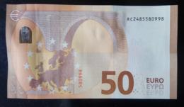 2017 50 EURO RC2485580998- UNC - EURO