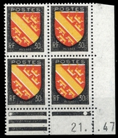 1946, Frankreich, 753 Br, ** - Frankrijk