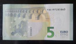 2013 Greece 5 EURO YA4197285xxx- UNC - 5 Euro