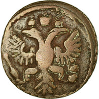 Monnaie, Russie, Polushka, 1/4 Kopek, 1731, TTB+, Cuivre, KM:187 - Rusland
