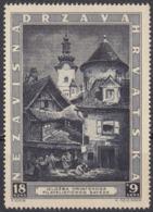 CROAZIA - 1943 - Yvert 104 Nuovo MNH, Come Da Immagine. - Croacia