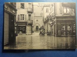 CPA  MONTBELIARD  INNONDATIONS DE 1913  DANS LA CARIOLE - Montbéliard