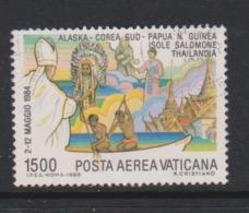 Vatican City AP 81 1986 Journeys Of Pope John Paul II, 1500 Lire Used - Used Stamps