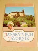 Castle Jansky Vrch Javornik. A Set Of 7 Postcards - Kastelen
