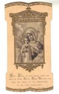 Divin Jésus, Je Vous Adore Entre Les Mains De Votre  Sainte-Mère ... - Santini