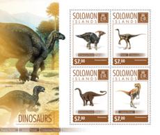 Solomon Islands   2014 Dinosaurs - Solomon Islands (1978-...)