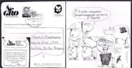 Argentina - 2019 - Lettre - Bandes Dessinées - Roberto Fontanarrosa - Comics - Covers & Documents