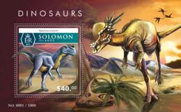Solomon Islands  2015 Dinosaurs - Solomon Islands (1978-...)