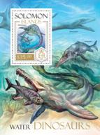 Solomon Islands  2013 Water  Dinosaurs - Solomon Islands (1978-...)