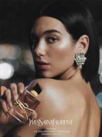 F-  Large Rabat Saint-Laurent - LIBRE   -  Perfume Card - USA - Parfumkaarten