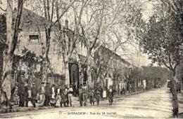 17-BIRKADEM -rue Du 14 Juillet  -ed. Grand Bazar - Algeria