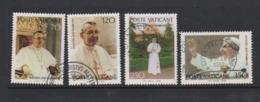 Vatican City S 657-60 1978 Pope John Paul I.used - Vatican