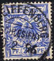 Allemagne Poste Obl Yv: 48 Mi:48 Aigle Impériel (TB Cachet à Date) - Deutschland