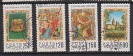 Vatican City S 664-67 1979 900th Anniversary Martyrdom Of St Stanislas.used - Vatican
