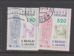 Vatican City S 671-72 1979 St Basil The Great.used - Vatican